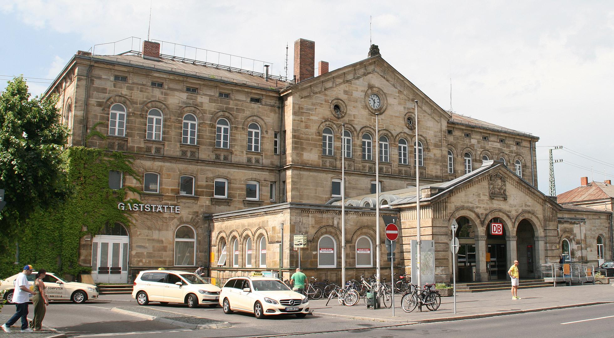Internetportal der Stadt Fürth - Hauptbahnhof