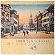 Mit einer 45 Cent-Sonderbriefmarke gratuliert die Post der Stadt Fürth zum 1000. Geburtstag.