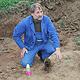 Sprengmeister Josef Beier hat gestern eine im neuen Gewerbegebiet Hardhöhe gefundene Fliegerbombe aus dem Zweiten Weltkrieg entschärft.