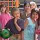 Gemeinsam essen, gemeinsam lernen und spielen. Die Rosenschule bietet den ersten Ganztagszug an einer Fürther Grundschule an.