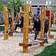 Zweiter Pausenhof der Hans-Böckler-Schule (HBS) mit neuen Spielgeräten für die Klassen fünf bis sieben eingeweiht.