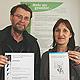 """Das Projekt """"Mehr als gewohnt – Stadtteile machen sich stark für Gesundheitsförderung in der Innenstadt Fürth"""" hat eine Belobigung erhalten."""