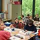 Großer Schritt in Richtung Schulzentrum Burgfarrnbach: Der Erweiterungsbau ist fertig und Schüler freuen sich über die neuen Räume.