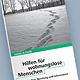 Neuer Flyer listet Gesprächs-, Essens- und Beratungsmöglichkeiten der Arbeitsgemeinschaft Wohnungslosenhilfe in Fürth für Obdachlose auf.