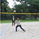 Noch mehr Sportangebot im öffentlichen Raum: In der Friedensanlage nahe der Pegnitz stehen zwei Beachvolleyball-Felder zur Verfügung.