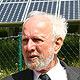 Dr. Ernst Ulrich von Weizsäcker informierte sich vor Ort über Frankens größte Photovoltaikanlage.