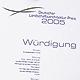 Der Bund Deutscher Landschaftsarchitekten hat auf der Bundesgartenschau (BUGA) in München den Deutschen Landschaftsarchitekturpreis vergeben.