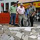 Die Pflasterarbeiten für die neue Fußgängerzone werden planmäßig fertig – das hat Stadtbaurat Joachim Krauße versichert.