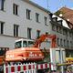 Zwei Schandflecke der Innenstadt werden abgerissen für schönes Wohnen und Arbeiten gleich hinter dem Rathaus.