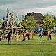 Zentraler Bestandteil der Planung für den neuen Stadtteil im Süden der Stadt war von Beginn an ein großer Park.