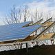 Zum Ende des Jahres kann die Kleeblattstadt mit einem bundesweit einzigartigen Projekt aufwarten: dem Solarwall im Golfpark.