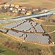 Der Solarstromproduktion der Anlage auf dem Solar- berg in Atzenhof übertrifft alle Erwartungen. Für OB Jung die beste Kapitalanlage in schwierigen Zeiten.