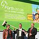 Die Stadt Fürth hat in Nürnberg eine neue Image-kampagne gestartet, die auf 300 Großplakatwänden in bayerischen Großstädten zu sehen ist.