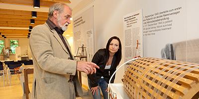 Das Dialysemuseum im Kuratorium für Dialyse und Nierentransplantation wurde nach dem berühmten Arzt und Sohn der Stadt Fürth