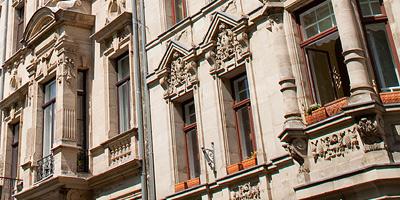 Die zwei Prachtstraßen aus der Gründerzeit gehören zu den schönsten in Fürth.