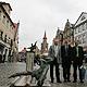Bei einem Besuch in Fürth zeigt sich der neue Deutschland-Beauftragter der EU-Kommission beeindruckt von den Fürther Projekten.