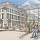 Der Stadtrat hat für den Beginn eines Verfahrens zur Errichtung eines Einkaufszentrums im Bereich der Rudolf-Breitscheid-Straße gestimmt.