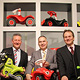 Auch in diesem Jahr besuchte OB Thomas Jung Fürther Unternehmen, die auf der Nürnberger Spielwarenmesse zu Gast waren.