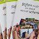 """Mit dem Faltblatt """"Stiften heißt ein Stück Heimat schenken"""" informieren zehn Fürther Stiftungen und werben für Unterstützung."""