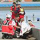 Die Fürther Hilfsorganisationen haben sich auf Herz und Nieren prüfen lassen und übten verschiedene Unfallszenarien am Fürther Hafen.