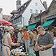Das Verwaltungsgericht Ansbach hat den Klagen auf Ende der Außenbewirtung beim Grafflmarkt um 22 Uhr stattgegeben. Die Stadt legt Beschwerde ein.