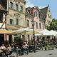 Eilanträge abgewiesen: In der Gustavstraße ist der Außen-Ausschank an Wochenenden bis auf weiteres bis 23 Uhr erlaubt.
