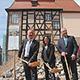 Mit einem Spatenstich haben die Arbeiten für einen Erweiterungsbau des Jüdischen Museum Franken in Fürth begonnen.