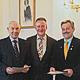 Seit mehr als 45 Jahren sind Wilhelm Bluth und Gerhard Ermann ehrenamtlich im Einsatz und erhielten nun dafür das Goldene Kleeblatt.