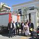 Unter Leitung von Bürgermeister Markus Braun ist eine kleine Abordnung des Fürther Stadtrats in die griechische Partnerstadt Xylokastro gereist.