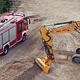 Die Fertigstellung der rund 23 Millionen teuren neuen Feuerwache an der Kapellenstraße ist für Anfang 2020 vorgesehen.