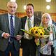 Ex-Stadtbaurat Joachim Krauße und Rotraut Grashey sind für langjähriges Engagement mit dem Goldenen Kleeblatt ausgezeichnet worden.