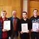 Hildegard Scharvogel, Mark Muzenhardt und Felix Geismann wurden dieser Tage für ihren engagierten Einsatz für das Gemeinwohl geehrt.
