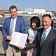Oberbürgermeister Thomas Jung hat dieser Tage vom bayerischen Ministerpräsidenten Markus Söder den Bayerischen Verdienstorden überreicht bekommen.
