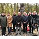 Eine Delegation des Fürther Stadtrats gedachte im polnischen Torun der Opfer nationalsozialistischen Terrors bei einer Gedenkfeier und Kranzniederlegung.