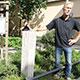 Mit einer Stele und einem Kastanienbaum dankt die Stadt den einstigen