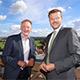 Die beiden benachbarten Oberbürgermeister Thomas Jung und Marcus König aus Nürnberg haben sich heute über gemeinsame Aktivitäten ausgetauscht.