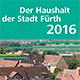 Ein Flyer zum städtischen Haushalt 2016 informiert komprimiert und übersichtlich über alle wichtigen Zahlen, Daten und Fakten.