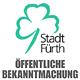 Ab Dienstag, 11. Juni, ist der rückwärtige Zugang zum Ämtergebäude Süd in der Schwabacher Straße nicht mehr möglich.
