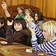 Bereits zum dritten Mal fand im Rathaus eine Kindersprechstunde statt, bei der Schülerinnen und Schüler ihre Fragen stellen konnten.