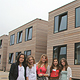 Nach der energetischen Sanierung und dank des neuen Anbaus strahlt die Mittelschule Kiderlinstraße in neuem Glanz.