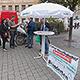 Die Unterschriftensammlung des Behindertenrates für eine Petition an den Bayerischen Landtag war äußerst erfolgreich.