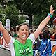 Ob alt oder jung, ob Teilnehmer oder Zuschauer – beim Fürther Metropolmarathon herrschte auch in diesem Jahr blendende Stimmung.