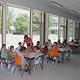 Das neu errichtete Gebäude an der Friedrich-Ebert-Schule gilt schon jetzt als Vorbild für weitere Schulen, die das Betreuungsangebot ausbauen wollen.