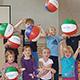Zusammen mit dem BVS bietet der Jugendärztliche Dienst Turnen für Vorschulkinder mit wichtigen Bewegungsübungen an.