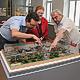 Wie die Fürther Freiheit im Jahr 1920 ausgesehen hat, kann man jetzt anhand eines handgefertigten Modells des Ludwigsbahnhofs im Stadtmuseum begutachten.