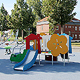 """Statt der """"Bunten Hügel"""" stehen seit Kurzem neue attraktive Spielmöglichkeiten für Mädchen und Jungen im Südstadtpark zur Verfügung."""