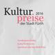 Im Kulturforum Fürth wurden die Kultur-, und Kulturförderpreise verliehen, sowie die Sonderpreise Kultur.