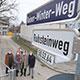 Mit dem Rainer-Winter-Weg würdigt die Stadt Fürth das große unternehmerische und soziale Wirken des Vorsitzenden der Uvex-Gruppe.