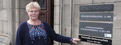 Seit 1. September leitet die Sozialpädagogin Christiane Schmidt die städtische Fachstelle Seniorenarbeit im Rathaus.