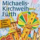 Positive Bilanz: Die Michaelis-Kirchweih 2014 erwies sich einmal mehr als Publikumsmagnet und friedliches Familienfest.